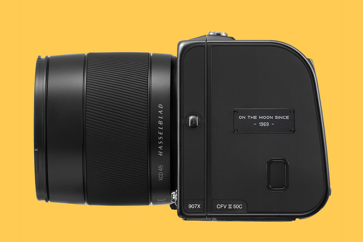 Hasselblad 907X Limited Edition vista laterale sinistra