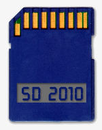 Scheda SD Adata Superinfo con display | Osservatorio Digitale