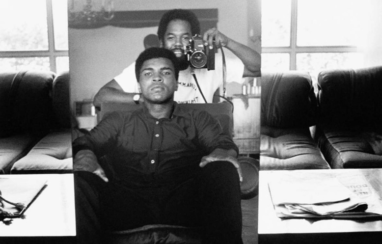 Ali and Howard in Zaire, 1974 © Howard Bingham