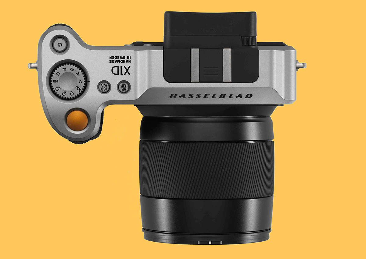 Hasselblad X1D Top od85