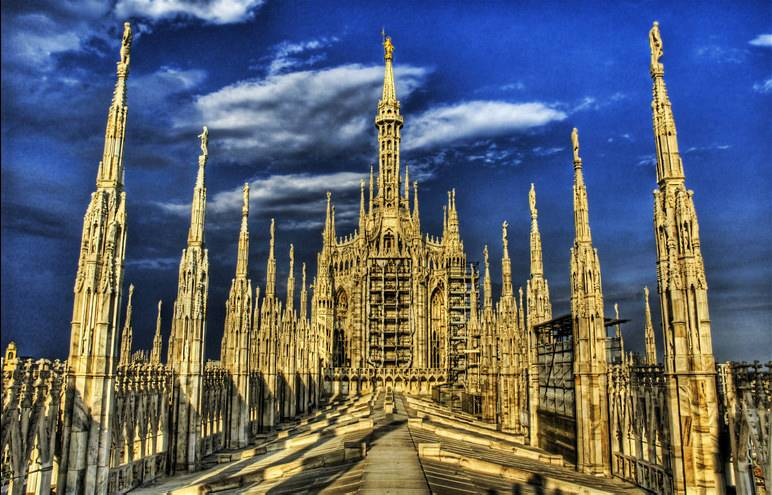 The Duomo, The Heaven Side - (C) Trey Ratcliff